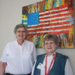 Ellen Hodges and JoAnn Hennessy Smith.