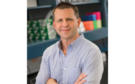 Alan Tackett, Ph.D., was awarded a National Cancer Institute grant of $1.75 million to support his ongoing research into new therapies for metatatic melanoma.