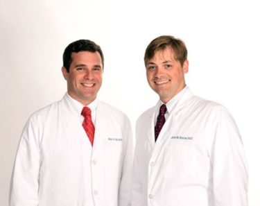 Portrait of Drs. Tait and Bracey
