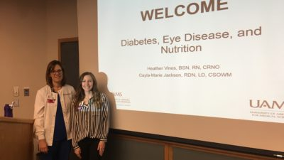 irst Patient-Oriented Seminar on Diabetic Retinopathy and Nutrition Held at JEI