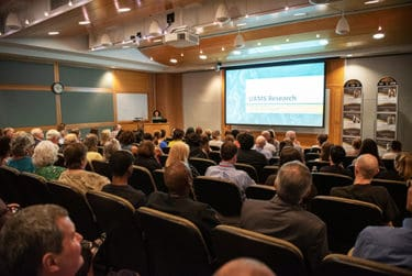 More than 100 of the university's research staff, department chairs and center directors attended the meeting.