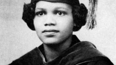 Edith Irby Jones, M.D., enrolled at UAMS in 1948 as the first African American to enroll in an all-white medical school in the South.