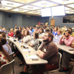 The 75 members of the College of Pharmacy's Class of 2023 spent two-and-a-half days in orientation in a variety of activities and hearing from a wide array of faculty and students.