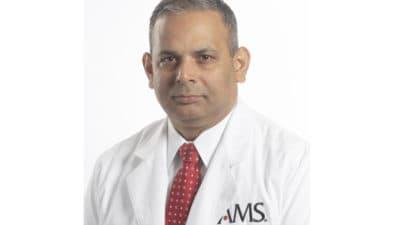 Portrait of Dr. Choudhary