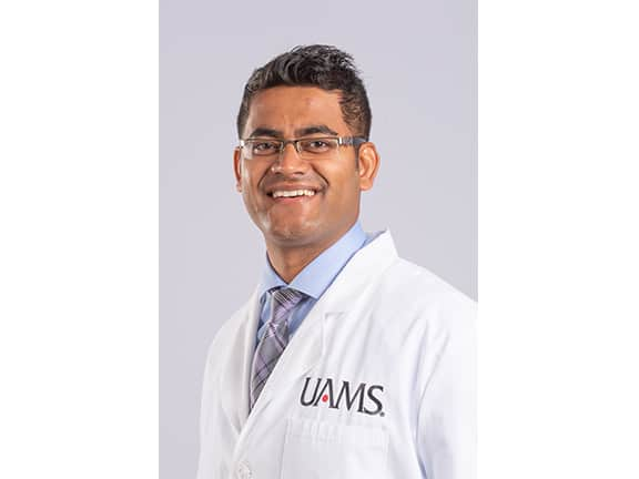 Hematologist oncologist Akash Mukherjee, M.D., has joined the University of Arkansas for Medical Sciences.