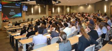 Crowd shot in auditorium