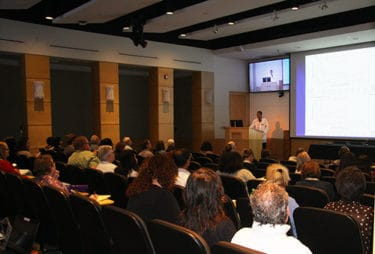More than 120 people attended the conference, which include about 60 speakers and presentations over three days.