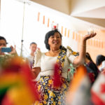 International Fest included tables with cultural items, food by UAMS Catering and demonstrations, such as a traditional Filipino dance with candles.