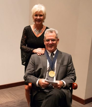 Dr. Smeltzer and his wife, Karen