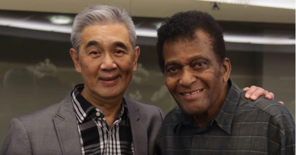 Dr. James Suen and Charley Pride
