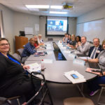 Teaching Scholars gather for the first meeting of the nine-month program in September.