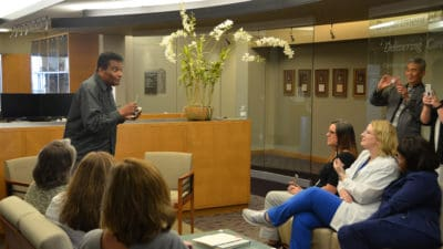 Charley Pride at UAMS