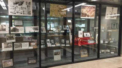 A new exhibit from the UAMS Historical Research Center celebrating the 140th anniversary of UAMS has been installed near the College of Medicine administrative offices.
