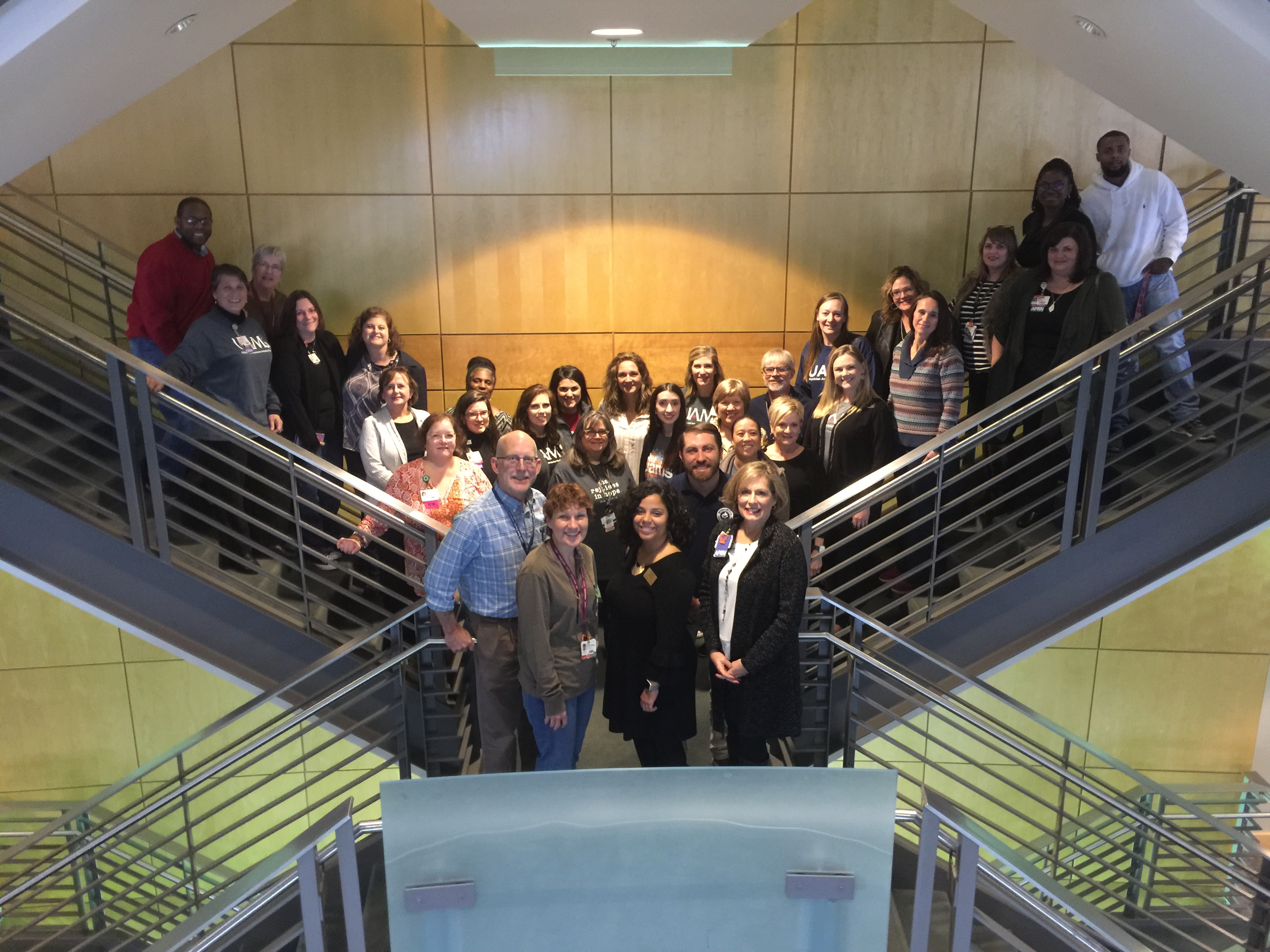 Faculty, staff and students from throughout UAMS participated in the CAPS facilitator training.