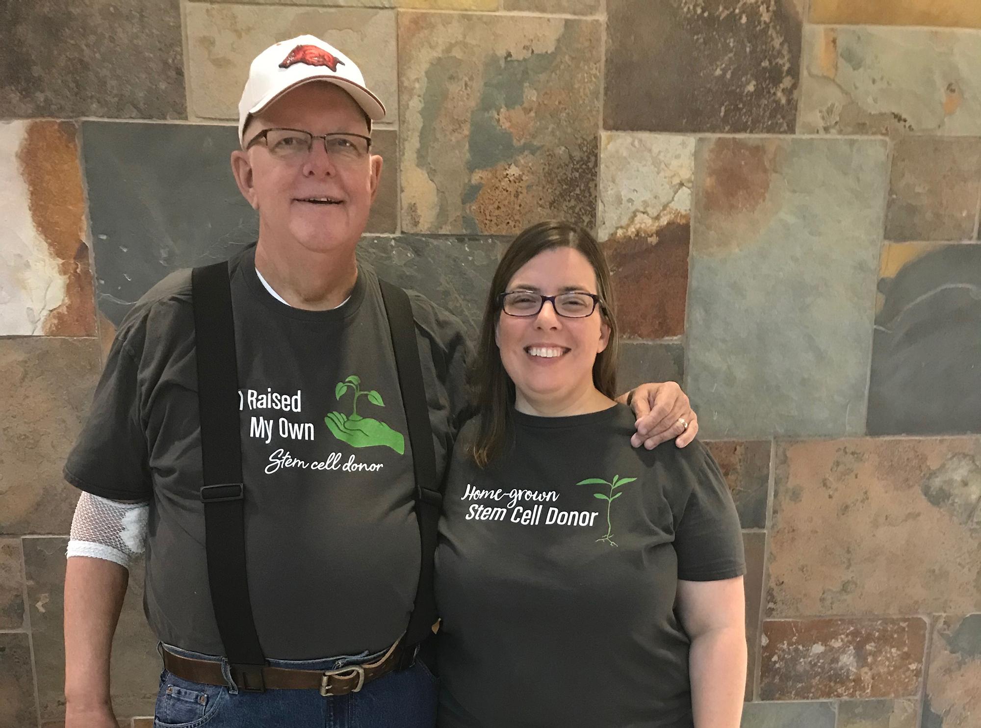 Butch King and Paula Draeger