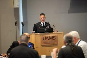Col. Jeffrey Wood, J.D., MBA, talks about the common experiences of service.