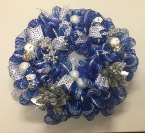 Win one of three decorative holiday wreathes