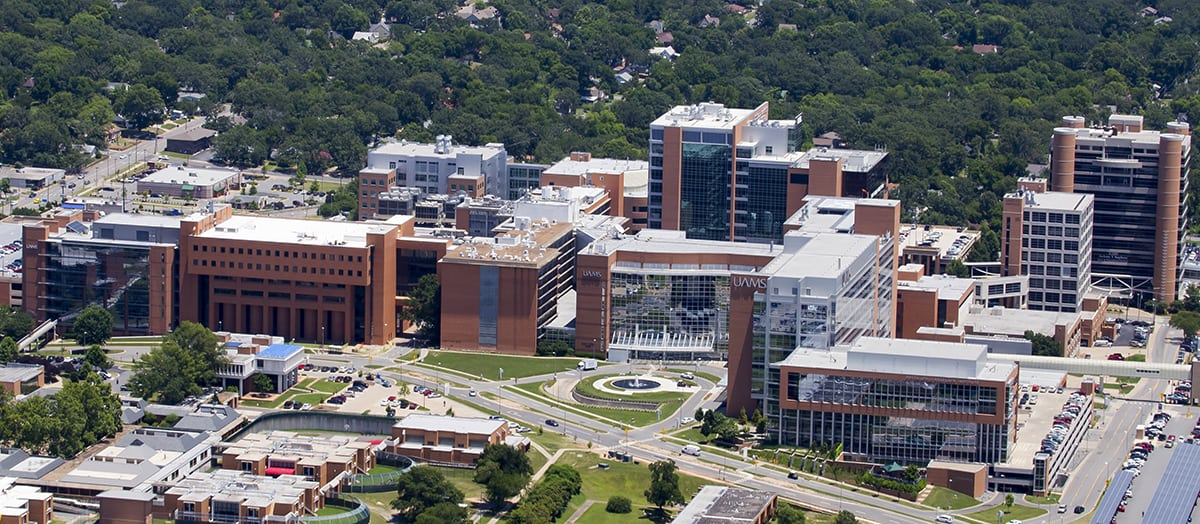 UAMS' 140th year was one of positive change and noteworthy events.