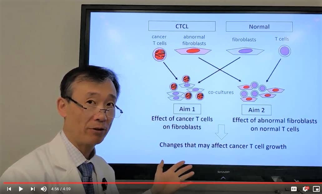 Henry K. Wong, M.D., Ph.D., explains his research in a video he produced as part of the pilot award application process.