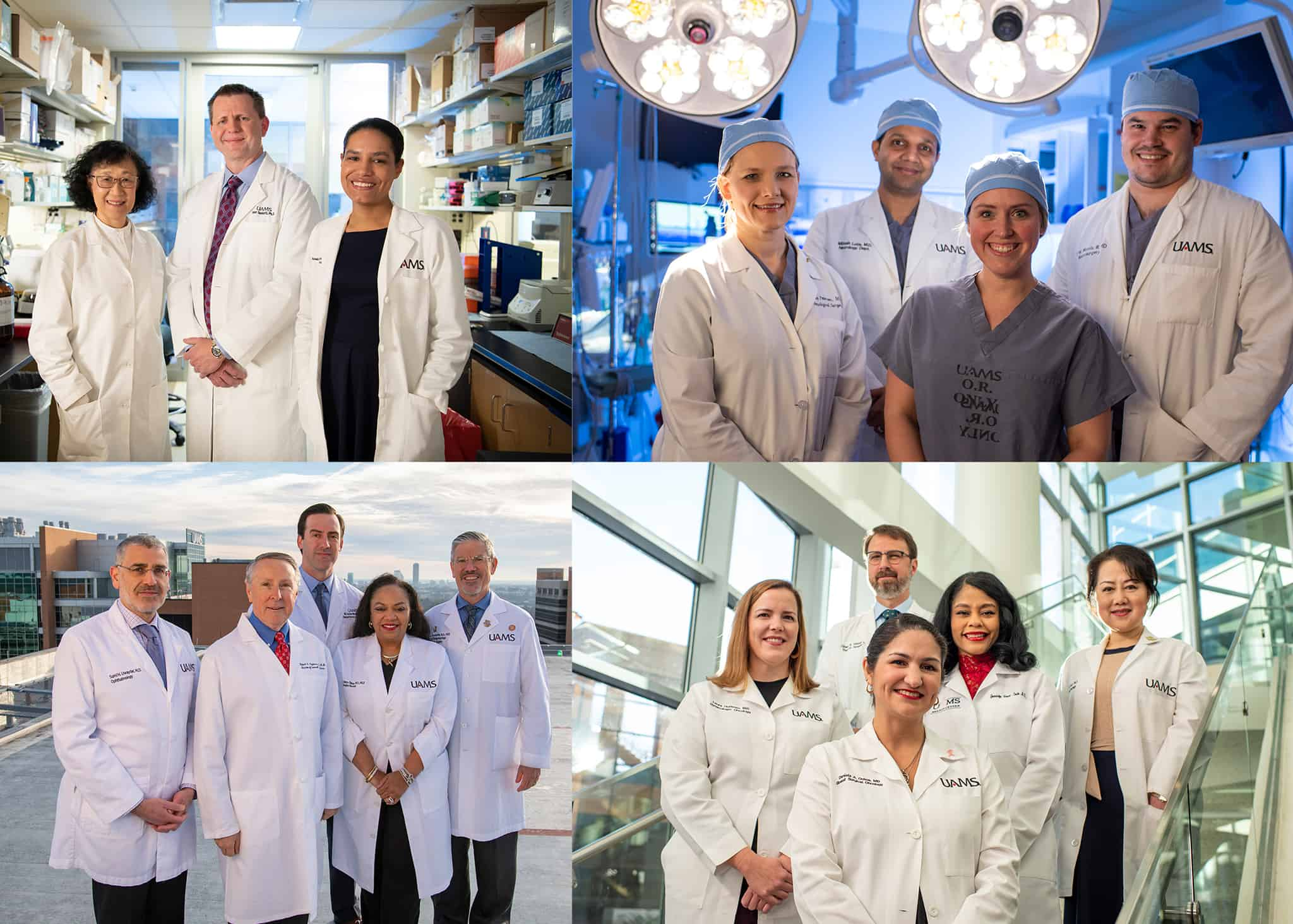 The new television commercials feature members of Team UAMS. The commercials are part of a new UAMS Health advertising campaign that also includes outdoor, print and digital ads.