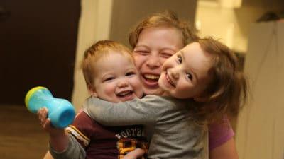 Emily & children