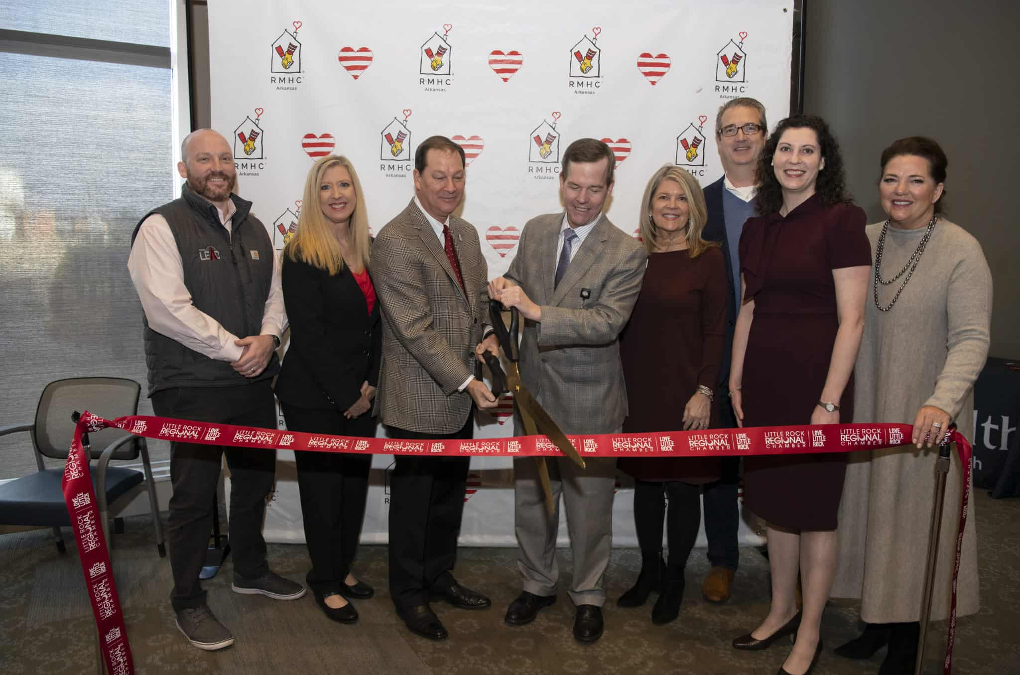 A grand opening celebration was held Jan. 31 for the new Ronald McDonald Family Room on the fifth floor of the Medical Center.