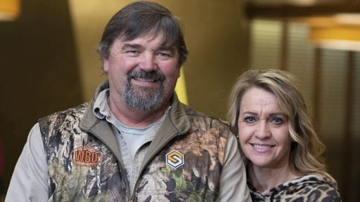 """""""When you get a diagnosis like that, your world crumbles and you don't know what to expect,"""" said Buffy Bennett, the wife of myeloma patient Wade Bennett of Hackett, Arkansas."""
