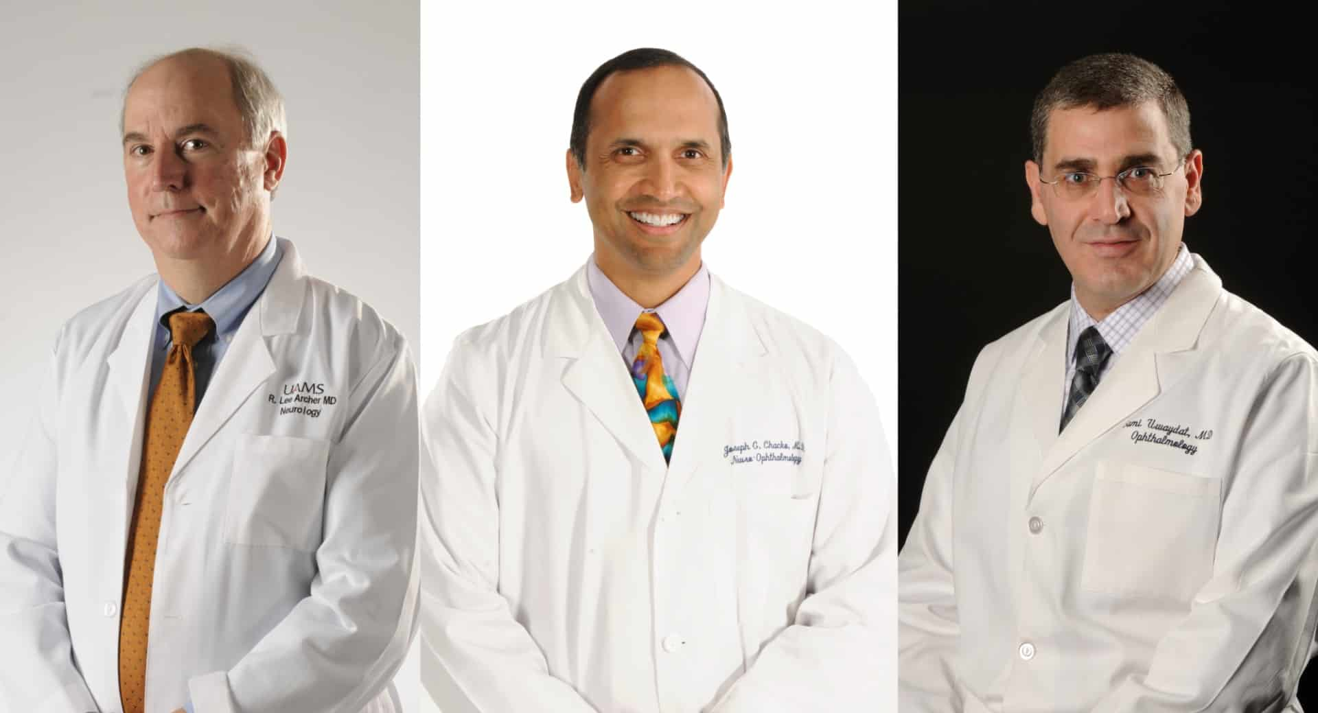 """This scholarship is also special in honoring three truly world-class faculty physicians,"" he added. ""I am not at all surprised that the donors were inspired by Dr. Archer, Dr. Chacko and Dr. Uwaydat."""