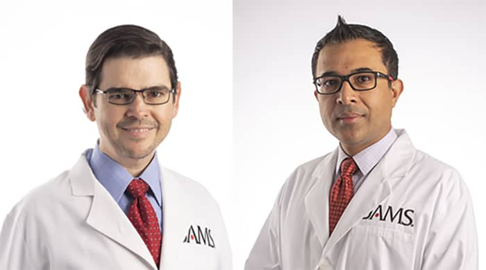 Portrait of Dr. Gonzalez and Dr. Khan