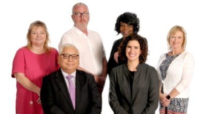 Group photo of Wellness Center staff