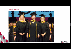 The College of Health Professions' Genetic Counseling program recognized their graduates with a virtual hooding ceremony.