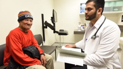 Doctor with Marshallese Patient