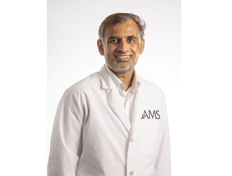 Portrait of Dr. Hassan