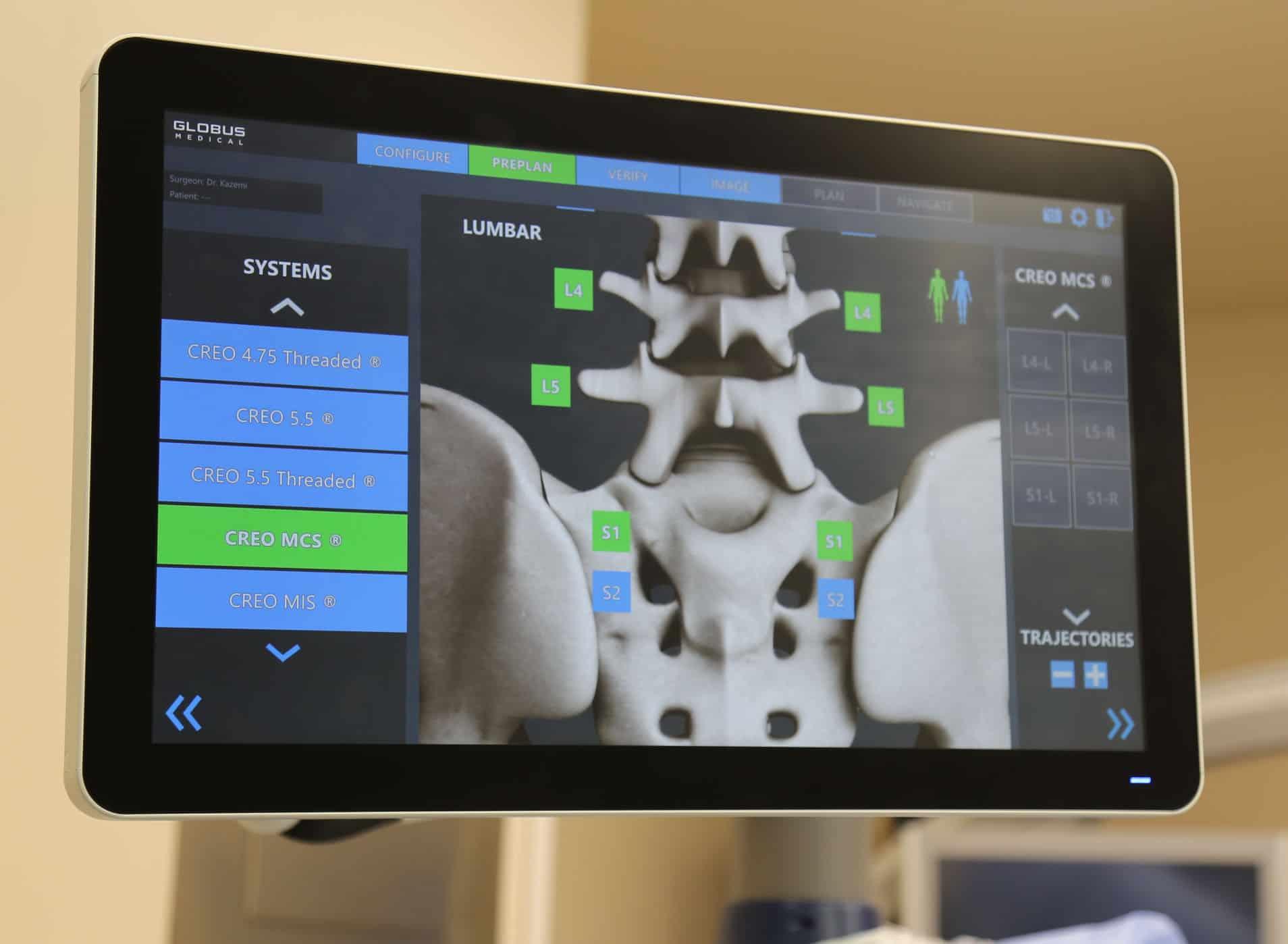 Screen shot of robot