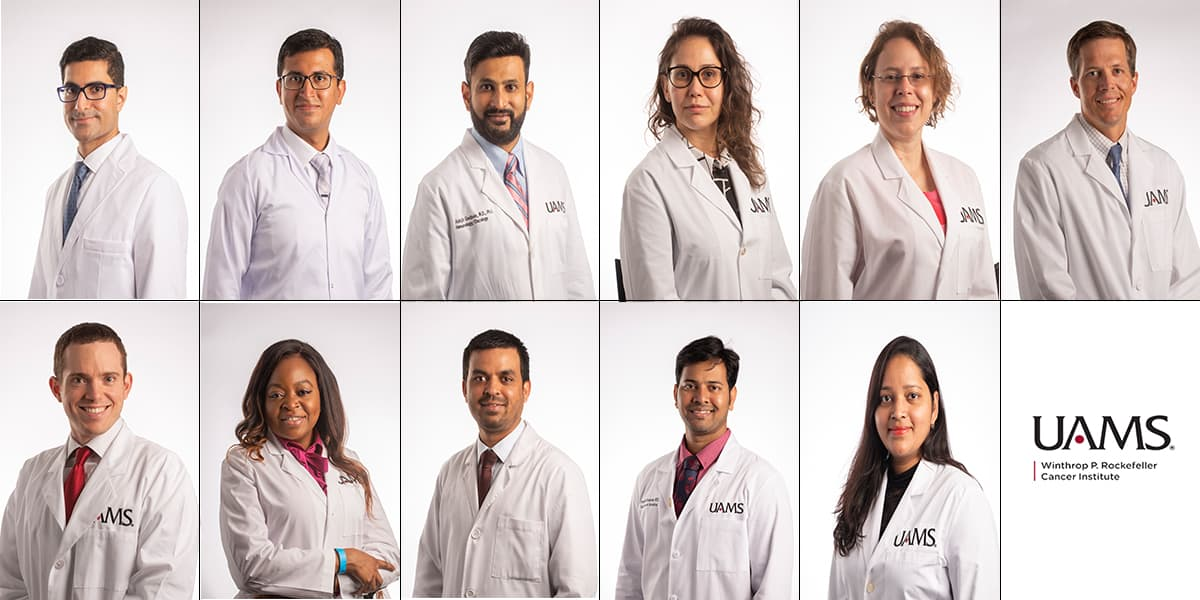 Oncologists join UAMS