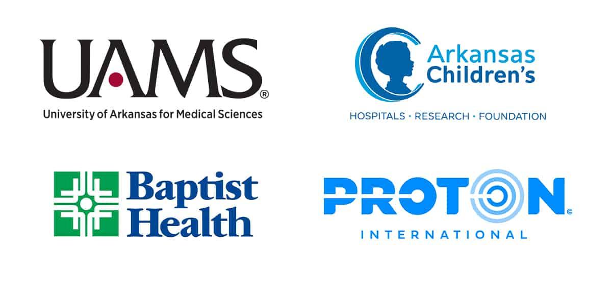 Proton ACH Baptist UAMS logos