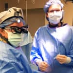 Dr. Pinckard-Dover and Dr. Petersen pre-op