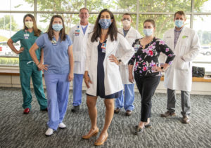 Group shot of OB GYN team