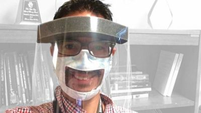 New research by Samuel Atcherson, Ph.D.,shows that transparent masks and face shields muffle sounds more than other masks do.