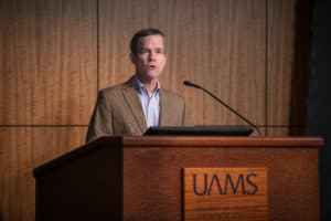 """Here at UAMS, diversity is our superpower,"" said UAMS Chancellor Cam Patterson, M.D., MBA."