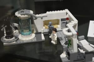 A Lego set depicted the sickbay as seen in Star Wars: The Empire Strikes Back.