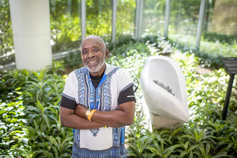 """The staff at the UAMS Myeloma Center has always made me feel like they are concerned about my well-being and that I get the best of medical and bedside care available,"" said Hosea Long of Little Rock, former associate vice chancellor and chief human resources officer, and a 20-year survivor of myeloma."
