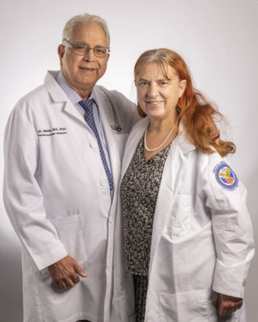 "Jawahar ""Jay"" Mehta, M.D., Ph.D., and Paulette Mehta, M.D., M.P.H., have created the Drs. Paulette and Jay Mehta Award in Creative Writing to encourage creative expression at UAMS."