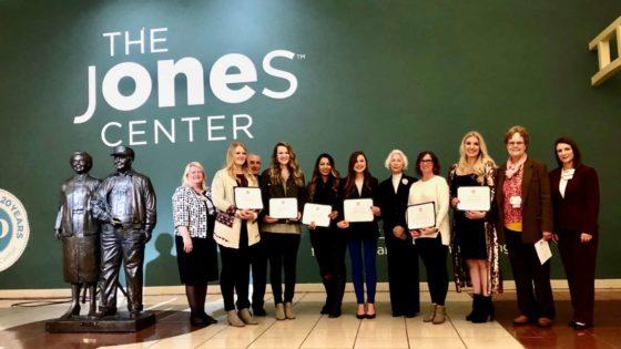 Jones Trust College of Nursing Scholarship Recipients