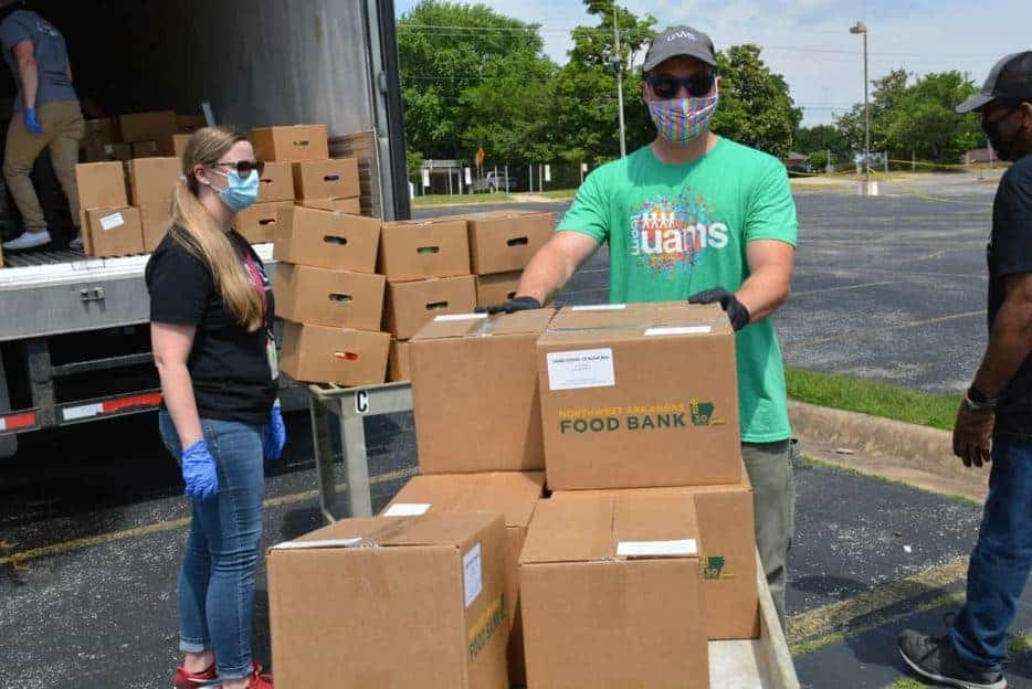 UAMS researchers in Northwest Arkansas have built partnerships in the region to enable delivery of healthy foods. (file photo)