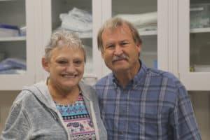Sandra and Larry Harvey