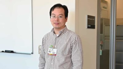 """""""Scientists have long understood there is a connection between bone size and strength related to physical activity,"""" said Jinhu Xiong, Ph.D., an assistant professor in the Department of Orthopaedic Surgery in the UAMS College of Medicine."""