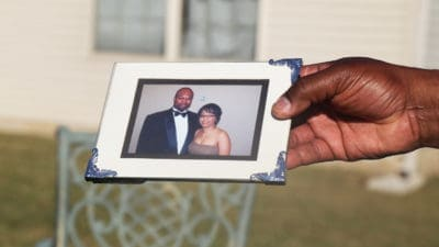 Rodney Smith shares a photo of himself with wife Danielle Smith and reflects on his memories of her.