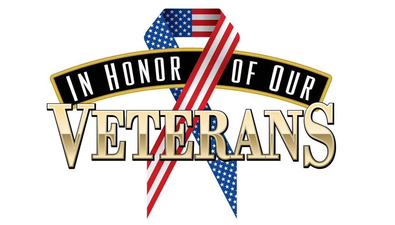 Veterans Month 2020 logo