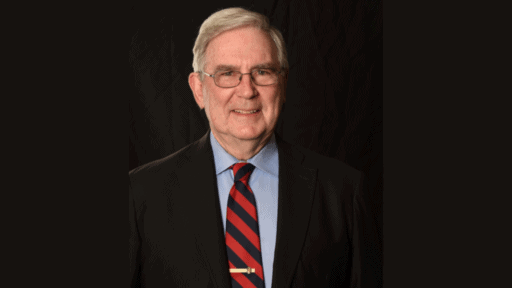 1968 UAMS College of Medicine graduate Jack Blackshear, M.D., is the college's 2020 Distinguished Alumnus.